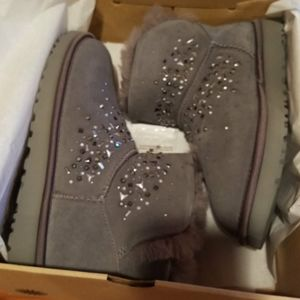 New Ugg classic Galaxy bling mini boots